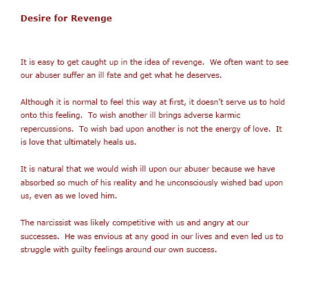 Spiritual Recovery From Narcissistic Abuse Narcissism Free